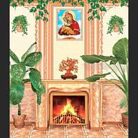Фотообои, Камин Идеал 15 листов, 207х242 см