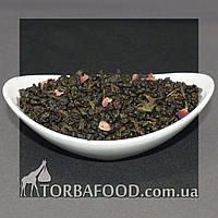 "Чай зеленый Ганпаудер ""Земляника со сливками"" 100 грамм, фото 1"