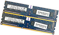 Оперативная память Hynix DDR3 4Gb (2Gb+2Gb) 1600MHz PC3-12800U 1R8 CL11 (HMT325U6CFR8C-PB N0 AA) Б/У