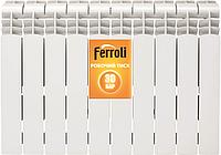 Радиатор алюминиевый Ferroli Polo 350х100
