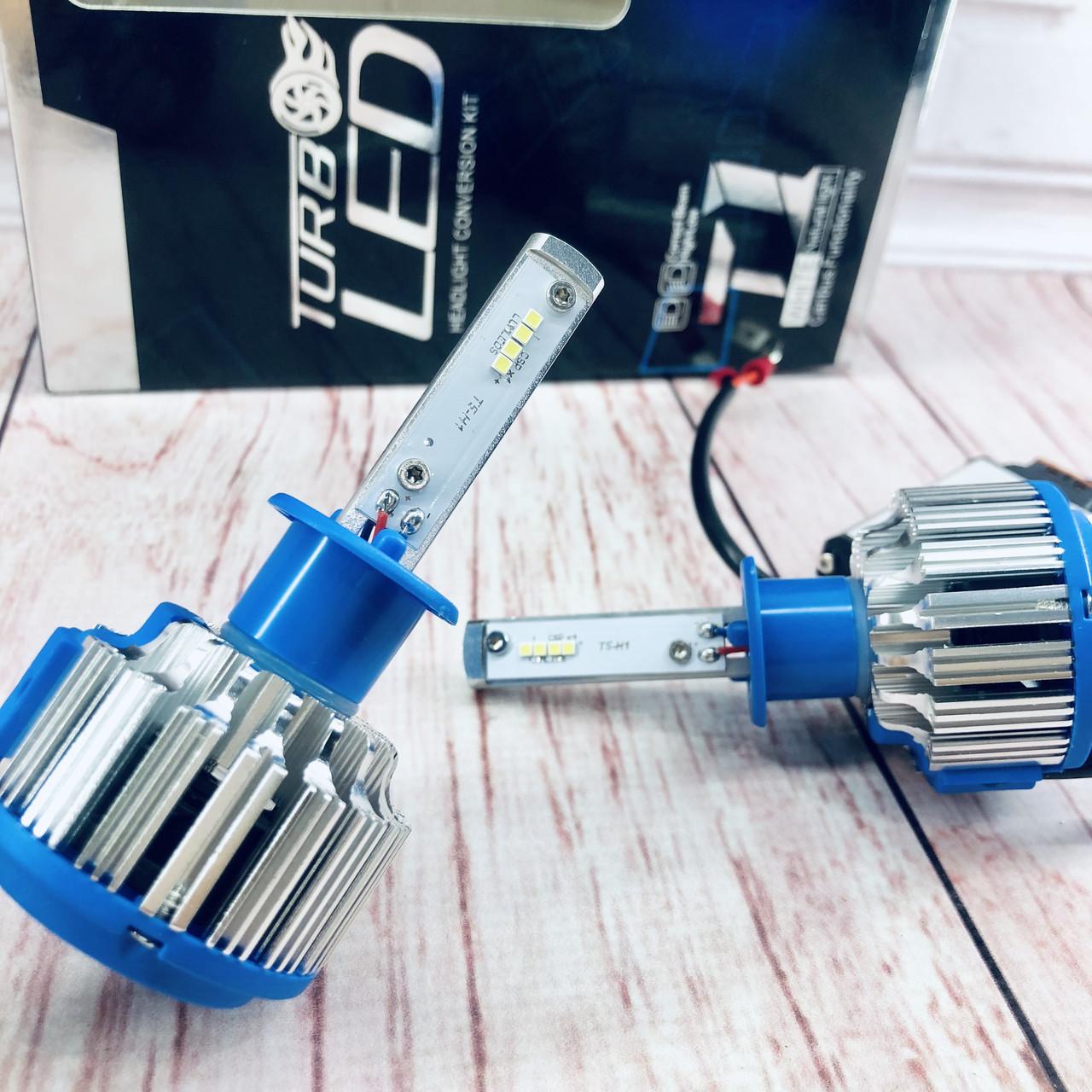 Светодиодные автомобильные лампы T1-H1 Turbo Led