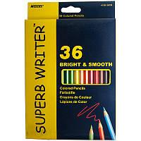 """Цветные карандаши """"Marco""""  36 цветов, ТМ Марко"""