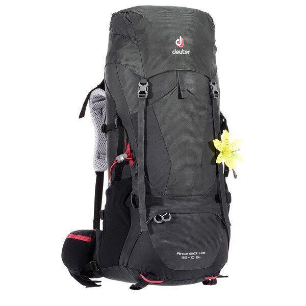 Рюкзак туристический Deuter Aircontact Lite 35+10 SL graphite-black (3340018 4701)