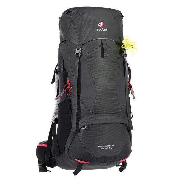 Рюкзак туристический Deuter Aircontact Lite 45+10 SL graphite-black (3340218 4701)