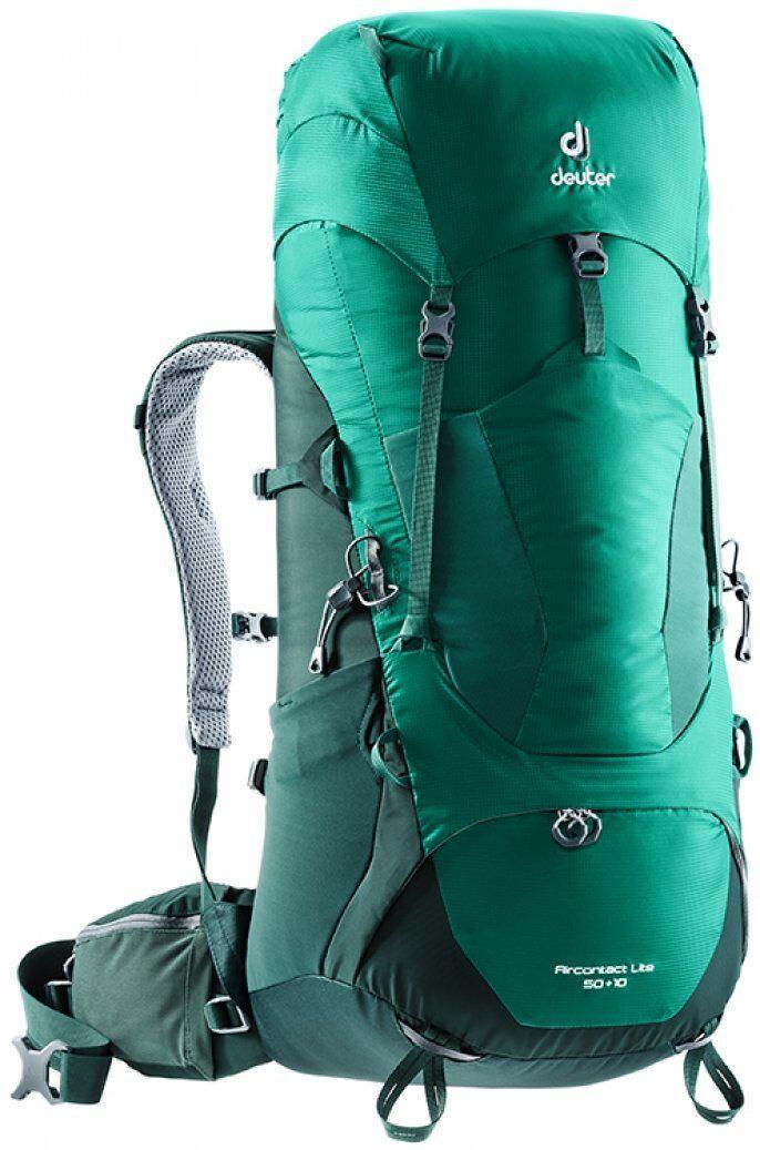 Рюкзак туристический Deuter Aircontact Lite 50+10 alpinegreen-forest (3340318 2231)