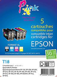 Картридж Pink Epson 18XL (3760060636911)