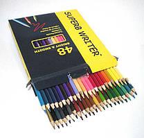 """Цветные карандаши """"Marco""""  48 цветов, ТМ Марко"""
