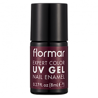 Гель-лак для нігтів  Flormar, 18 BOYSENBERRY JAM, 8 мл