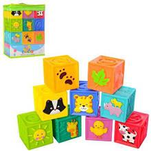 Кубики резиновые
