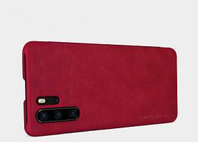 Кожаный чехол (книжка) Nillkin Qin Series для Huawei P30 Pro, фото 2