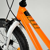 """Велосипед детский RoyalBaby FREESTYLE 12"""", оранжевый, фото 3"""