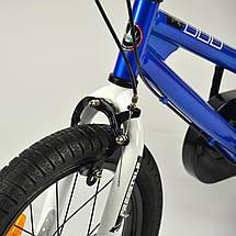 """Велосипед детский RoyalBaby FREESTYLE 14"""", OFFICIAL UA, синий, фото 3"""