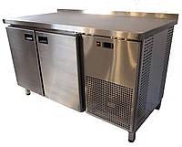 Стол холодильный 2-х дверный 1400х600х850мм Tehma, фото 1