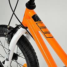 """Велосипед детский RoyalBaby FREESTYLE 14"""", оранжевый, фото 3"""