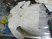 Костюм детский нарядный для девочки Платье и повязка р.62 - 74