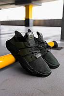 Мужские кроссовки Adidas Prophere Olive/Black, Реплика, фото 1