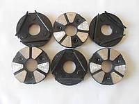 Комплект головок шлифовальных алмазных для мозаичных машин CO-199 Baumesser ФАТ-С95/МШМ 6 №00 Beton Pro