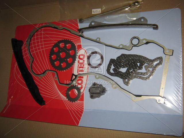 Комплект цепи привода распредвала 1.3JTD Fiat Doblo Фиат Добло Опель Opel INA