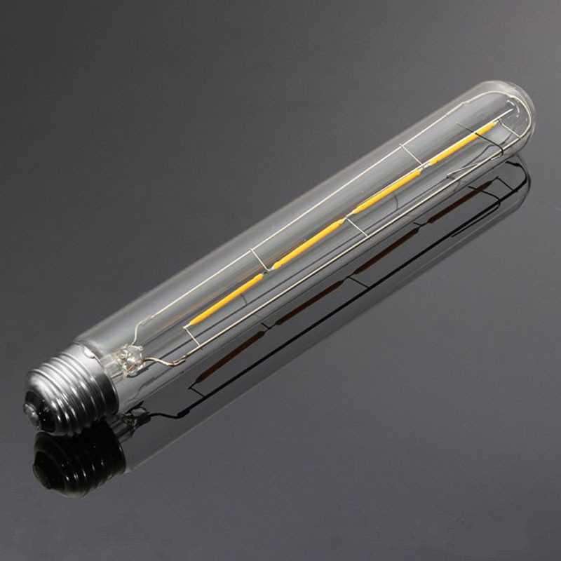 LED лампа Эдисона T185 4W 2700К диммируемая