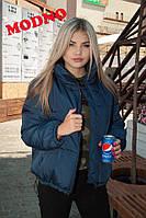 Женская зимняя объемная куртка  tez7101170r