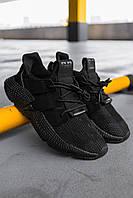 Чоловічі кросівки Adidas Prophere Black, Репліка, фото 1