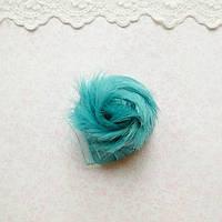 Волосы для Кукол Короткие Трессы ИЗУМРУДНЫЕ 5 см
