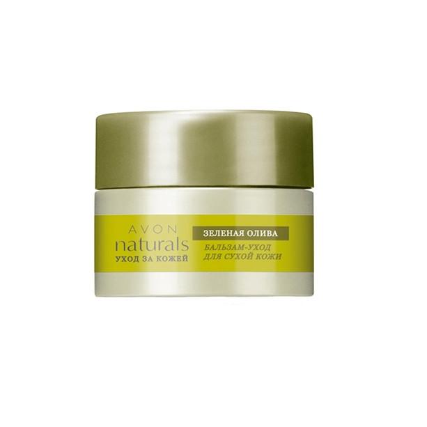 Бальзам-догляд для сухої шкіри «Зелена олива» Avon 15 мл,73329