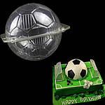 Форма пластиковая футбольный мяч 3D