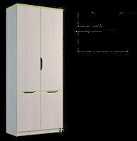 Шкаф книжный 800 Маттео 4Д