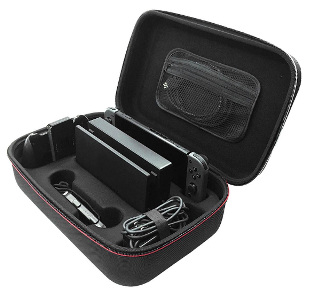Travel кейс чехол с ручкой для Nintendo Switch с ручкой/ Стекла есть в наличии /