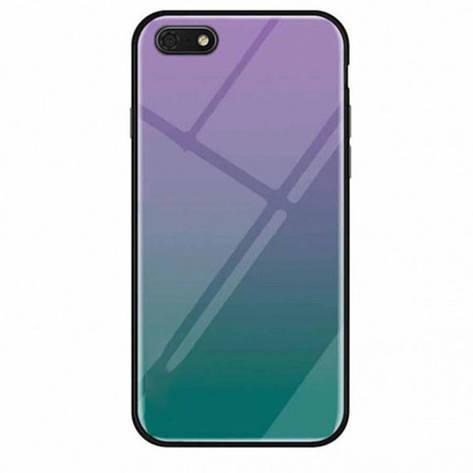 TPU+Glass чехол Gradient series для Huawei Y5 (2018) / Y5 Prime (2018), фото 2