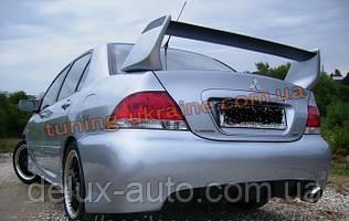 Задний бампер (Rallyart) для Mitsubishi Lancer 9 2003-2006 седан