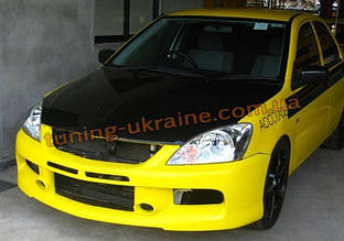 Передний бампер (Rallyart) на Mitsubishi Lancer 9