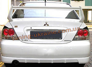 Юбка задняя (EGR) на Mitsubishi Lancer 9