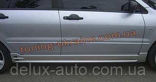 Пороги из стеклопластика на Mitsubishi Lancer 9 (EGR-Style)