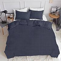 Комплект полуторного постельного белья DROP WHITE BLUE