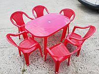 Комплект садовой мебели ЛЮКС! Стол большой + 6 кресел!, фото 1