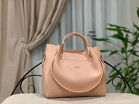Мягкая сумка с косметичкой клатчем, фото 3
