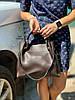 Мягкая сумка с косметичкой клатчем, фото 5