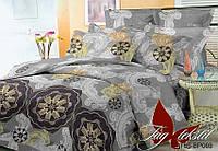 2 спальный комплект постельного белья BP069 ТМ TAG  Полликотон
