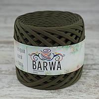 Трикотажная пряжа BARWA uitra light 3-5 мм, Лавровый