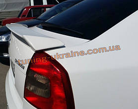 Спойлер RS на Skoda Octavia A5 (FL) 2009+