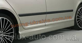 Пороги (накладки на пороги) на Skoda Octavia A5 (FL) 2009+(CT-style)