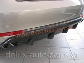 Задняя накладка (диффузор) на Skoda Octavia A5 (FL) 2009+
