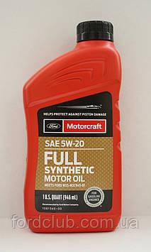 Ford Motorcraft Full Synthetic 5W-20 (для 1,5; 1,6; 2,5; 2.0 hybrid)