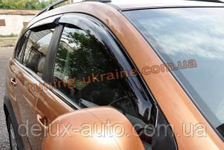 Дефлекторы окон (ветровики) Auto Clover для CHEVROLET CAPTIVA 12+