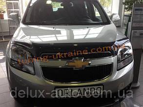 Дефлектор капота (мухобойка) SIM для Chevrolet Orlando