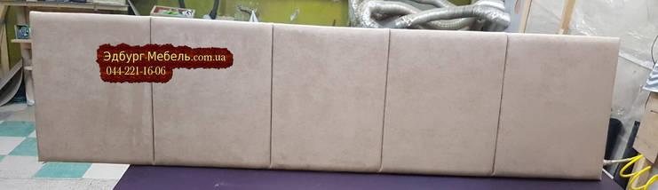 Мягкие изголовья для кроватей, мягкие панели, стеновые панели на заказ, фото 2