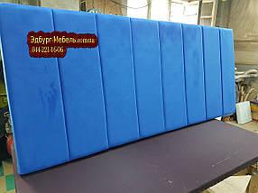Мягкие изголовья для кроватей, мягкие панели, стеновые панели на заказ, фото 3
