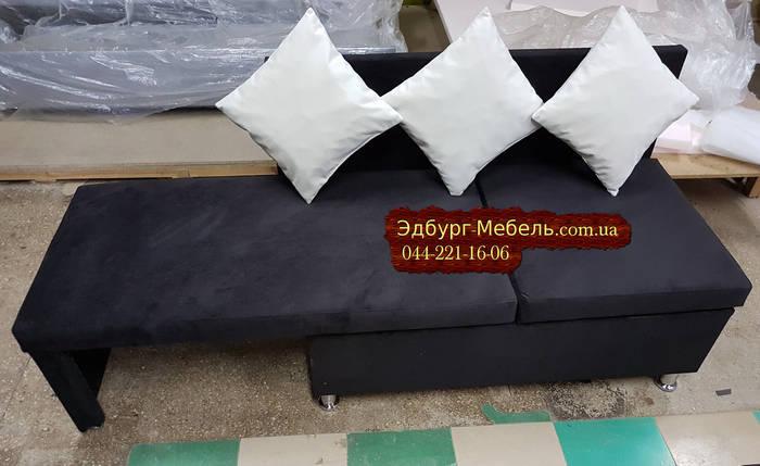 Диван для кухни с боковой раскладкой спального места, фото 2